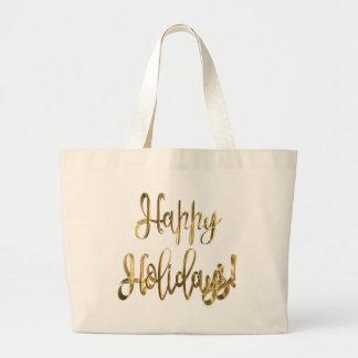 Boas festas! O bolsa do Natal da tipografia do