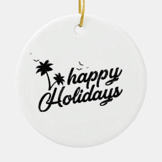 Boas festas ornamento impressionante para o Natal
