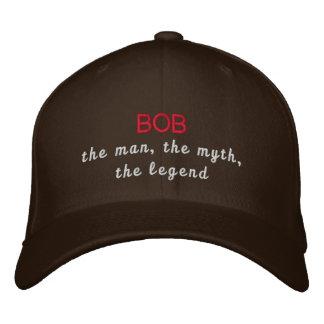 Bob a legenda boné bordado