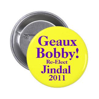 Bobby Jindal 2011 Bóton Redondo 5.08cm