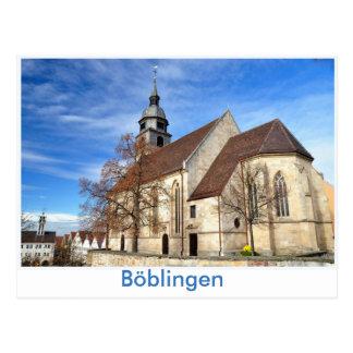 Böblingen, Stadtkirche Cartão Postal
