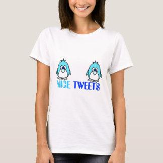 Bobo sujo engraçado da piada do humor do Twitter Camiseta
