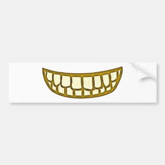 Boca dentes risos debochados mouth teeth grin adesivo para carro