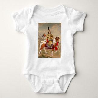 Body Para Bebê 乾隆帝 do imperador do Qianlong de China na armadura