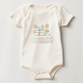 Body Para Bebê 1000 livros antes do jardim de infância