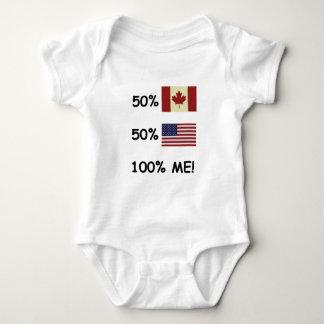 Body Para Bebê 100% MIM canadense/americano