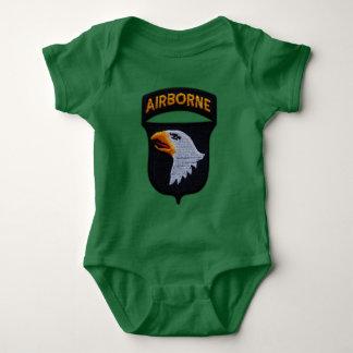 Body Para Bebê 101st Divisão aerotransportada de ABN que grita