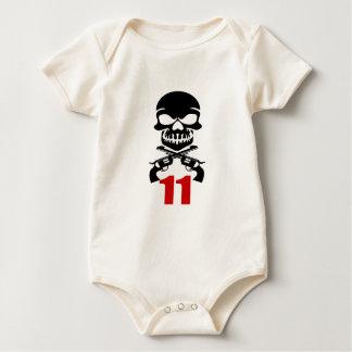 Body Para Bebê 11 designs do aniversário