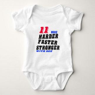 Body Para Bebê 11 mais fortes mais rápidos mais duros com idade