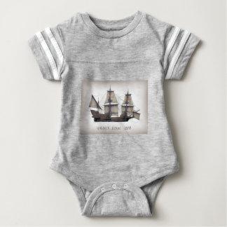 Body Para Bebê 1578 ouro Hinde