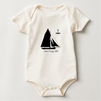 Body Para Bebê 1882 draga da ostra - fernandes tony