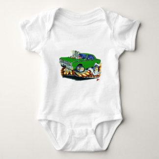 Body Para Bebê 1968-71 carro do verde do dardo de Dodge