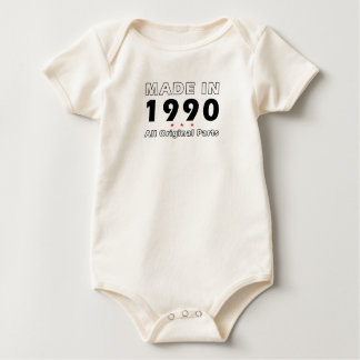 BODY PARA BEBÊ 1990