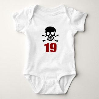 Body Para Bebê 19 designs do aniversário