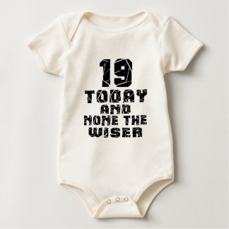 Body Para Bebê 19 hoje e nenhuns o mais sábio