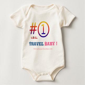 """Body Para Bebê """"# 1 bebê do viagem!""""   por I.D.L."""