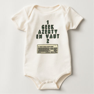 Body Para Bebê 1 GEEK AZERY vale 2 - Jogos de motsT
