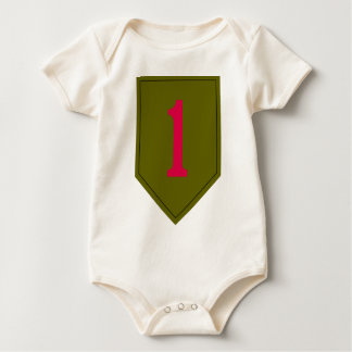 Body Para Bebê 1st Infantry Division