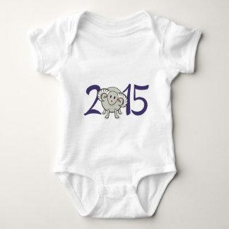 Body Para Bebê 2015 anos dos carneiros/cabra/ram