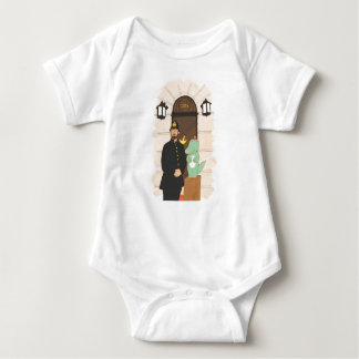 Body Para Bebê 221B, ilustração bonito dos animais