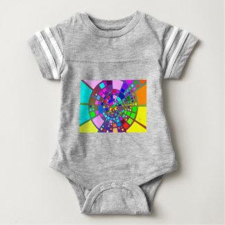 Body Para Bebê #2 psicadélico colorido