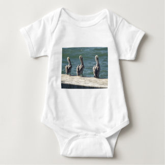 Body Para Bebê 3 pelicanos