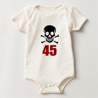 Body Para Bebê 45 designs do aniversário