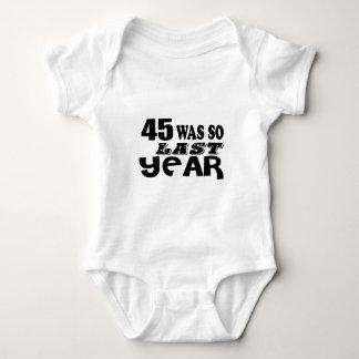 Body Para Bebê 45 era assim tão no ano passado o design do