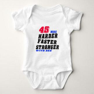 Body Para Bebê 45 mais fortes mais rápidos mais duros com idade