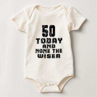 Body Para Bebê 50 hoje e nenhuns o mais sábio