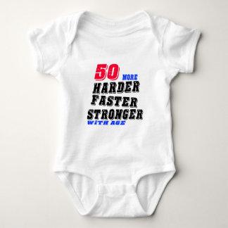 Body Para Bebê 50 mais fortes mais rápidos mais duros com idade