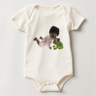 Body Para Bebê 519 Sasha Cara Black bebé