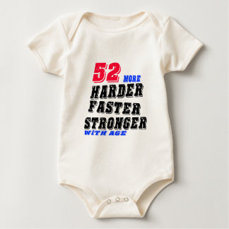 Body Para Bebê 52 mais fortes mais rápidos mais duros com idade