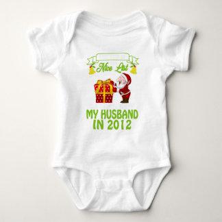 Body Para Bebê 5o TShirt do aniversário para a esposa no Xmas