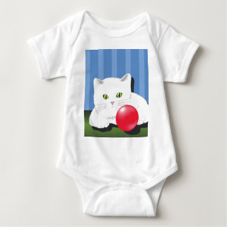 Body Para Bebê 63White Cat_rasterized