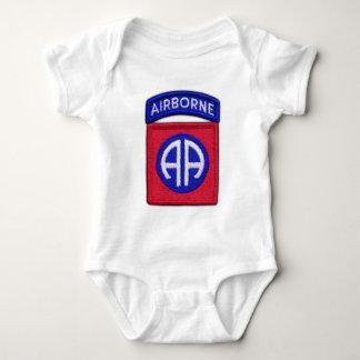 Body Para Bebê 82nd ABN Div transportado por via aérea controla