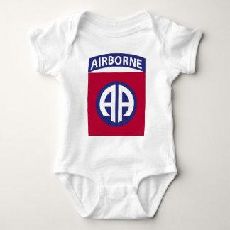 Body Para Bebê 82nd Divisão aerotransportada