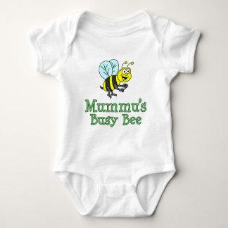 Body Para Bebê A abelha ocupada de Mummu