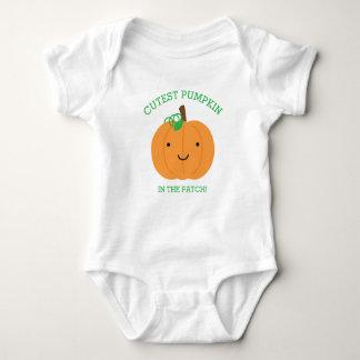 Body Para Bebê A abóbora a mais bonito no remendo