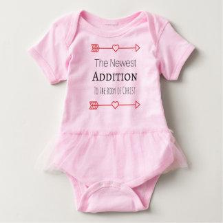 """Body Para Bebê """"A adição a mais nova"""" para os bebés"""