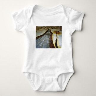 Body Para Bebê A árvore de vida com a estrada esse th de