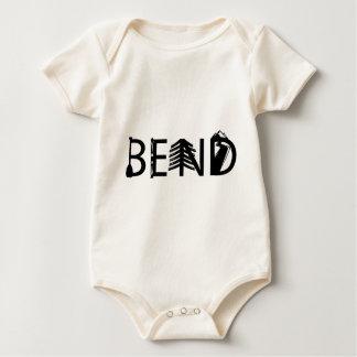 Body Para Bebê A atividade exterior de Oregon da curvatura rotula