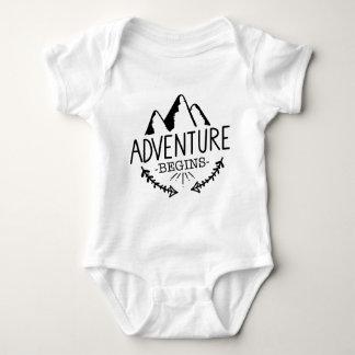 Body Para Bebê A aventura começa