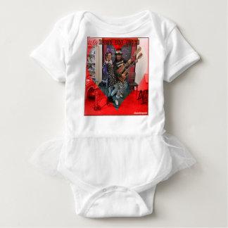 Body Para Bebê A azeitona e o Dingo, divertimento amando Portland