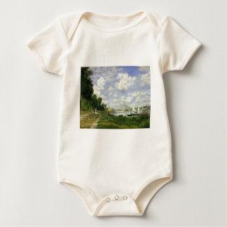 Body Para Bebê A bacia em Argenteuil - Claude Monet