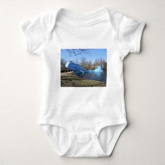 Body Para Bebê A baleia azul de Catoosa