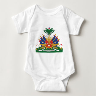 Body Para Bebê A brasão de Haiti