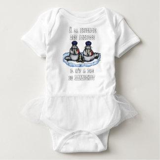 Body Para Bebê À BRIGADA dos MORSE não há MANETA