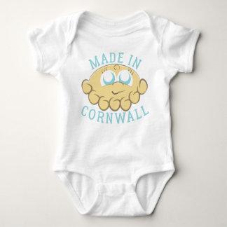 Body Para Bebê A cabeça pastosa Bebê-cresce - azuis bebés