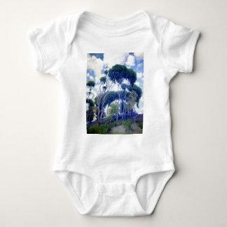 Body Para Bebê A cara aumentou - eucalipto de Laguna - obra-prima